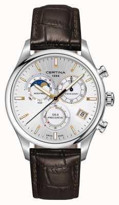 Certina Reloj de cronógrafo de fase lunar ds-8 precidrive para hombre C0334501603100