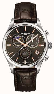 Certina Reloj de cronógrafo de fase lunar ds-8 precidrive para hombre C0334501608100