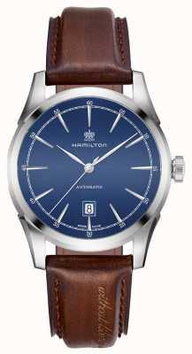 Hamilton Mens spirit of liberty automático reloj de línea azul H42415541