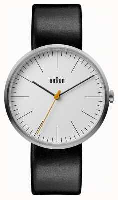 Braun Dial blanco clásico para mujer BN0173WHBKL