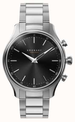 Kronaby 38mm sekel bluetooth metal pulsera de metal reloj inteligente A1000-2750