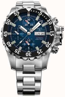 Ball Watch Company Mens ingeniero azul nedu hidrocarbono 600m crono automático DC3026A-SC-BE