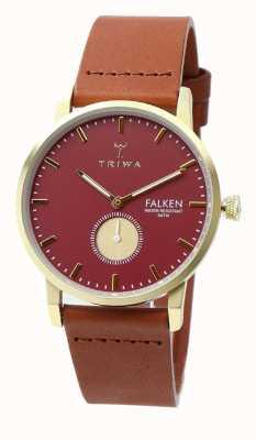 Triwa Mujer rubí marrón falken clásico FAST117-CL010212
