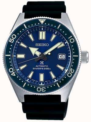 Seiko Prospex mar azul esfera azul bisel corona abajo SPB053J1