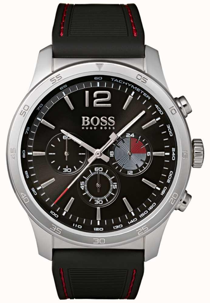 72dfe00978a3 Hugo Boss Reloj Cronógrafo Profesional Para Hombre Negro 1513525 ...
