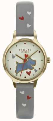 Radley Estuche para mujer de 24mm con diseño champ y correa de piel RY2630