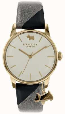 Radley Señoras caja de champán de 35 mm con tinta de encanto de perro / ceniza RY2648