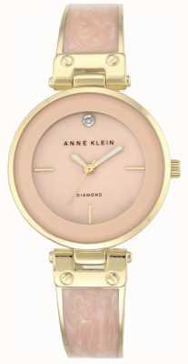 Anne Klein Amanda dorado caja rosa esfera AK/N2512LPGB