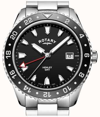 Rotary Gents pulsera de acero inoxidable GB05109/04