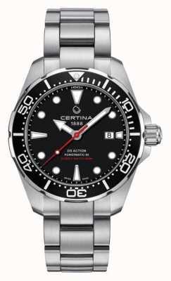 Certina Accionador de hombre ds powermatic 80 reloj automático C0324071105100