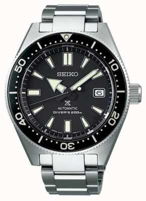Seiko prospex buzos recreación negro esfera reloj automático SPB051J1