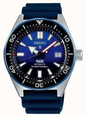 Seiko prospex padi recreation blue dial correa de resina azul SPB071J1