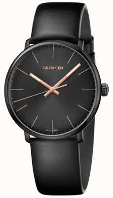 Calvin Klein Reloj para hombre de medio día minimalista K8M214CB