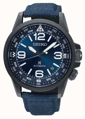 Seiko Reloj de correa de nylon automático para hombre Prospex land SRPC31K1
