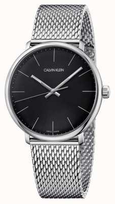 Calvin Klein Reloj negro de hombre de mediodía K8M21121