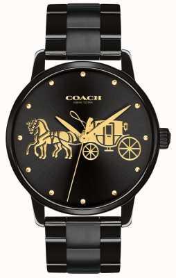 Coach Estuche y brazalete negro para mujer 14502925