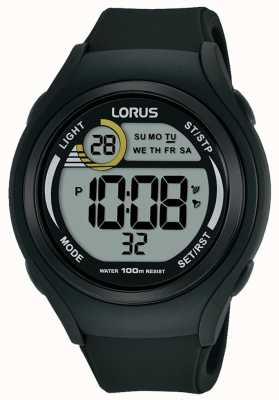 Lorus Unisex lorus rubber digital sports watch negro R2373LX9