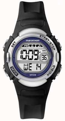 Timex Reloj maratón de caucho negro TW5M14300