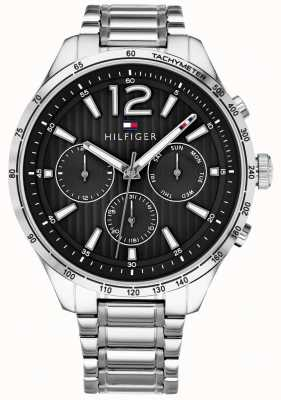 Tommy Hilfiger Brazalete de acero inoxidable reloj cronógrafo gavin para hombre 1791469