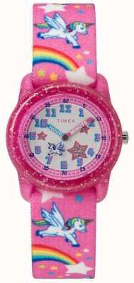 Timex Reloj analógico unicornio juvenil TW7C255004E