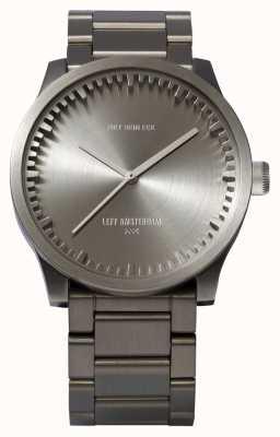 Leff Amsterdam Reloj de tubo s38 caja de acero pulsera de acero LT71101