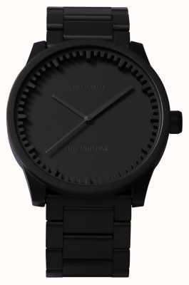 Leff Amsterdam Reloj de tubo s38 black case black bracelet LT71102