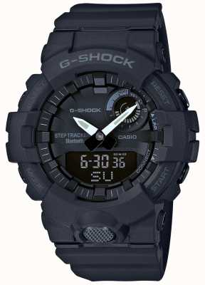 Casio G-shock bluetooth fitness tracker de pasos negro GBA-800-1AER