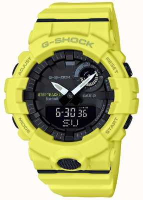 Casio G-shock bluetooth fitness step tracker correa amarilla GBA-800-9AER