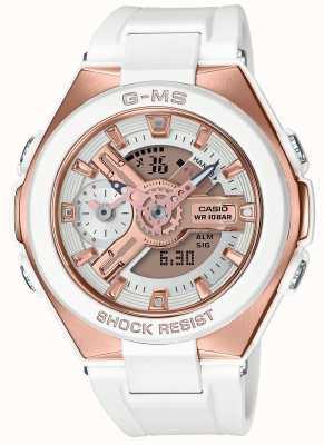Casio Baby-g g-ms glamorosa alarma de oro cronógrafo MSG-400G-7AER