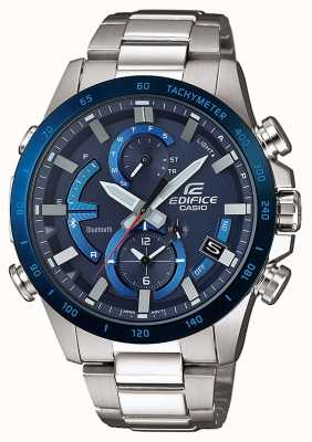 Casio Edifice bluetooth tough super iluminador solar azul EQB-900DB-2AER