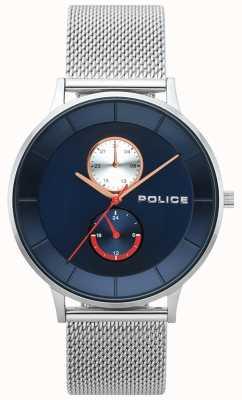Police Reloj de malla de acero berkeley para hombre 15402JS/03MM