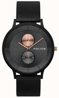 Police Reloj de hombre berkeley malla negra 15402JSB/61MM
