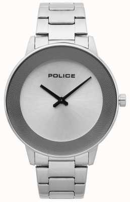 Police Reloj minimalista de acero inoxidable para hombre 15386JS/04M