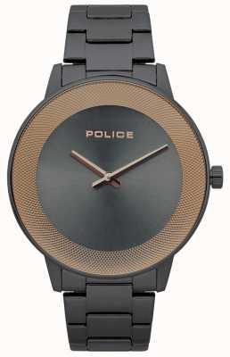Police Reloj minimalista de acero inoxidable para hombre 15386JSU/61M