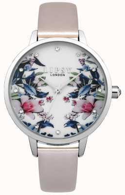 Lipsy Reloj floral para mujer LP574