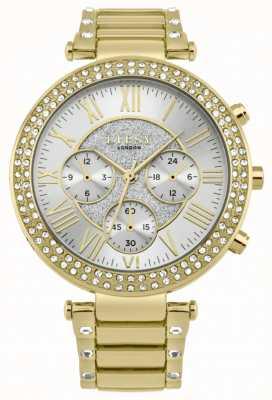 Lipsy Reloj de pulsera de bisel de cristal para mujer LP561