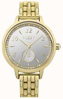 Lipsy Reloj de mujer enchapado en oro LP583