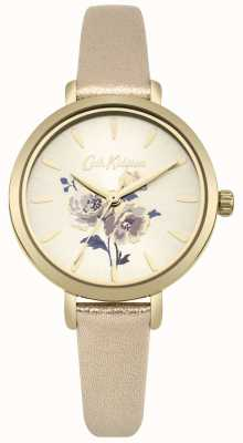 Cath Kidston Reloj de correa de oro metálico de manojo de isla de mujer CKL049G