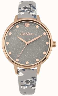 Cath Kidston Reloj de pulsera de manojo de isla reluciente gris mujer CKL056ERG