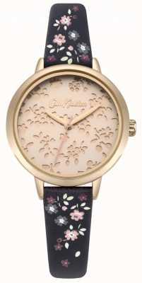 Cath Kidston Reloj de pulsera de mujer ditsy navy cortado con láser de alta calidad CKL055URG