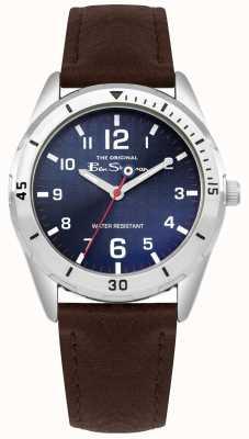 Ben Sherman Juego de regalo para cartera y reloj marrón para niños BSK002UBRG