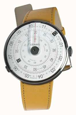 Klokers Klok 01 black watch head newport yellow correa individual KLOK-01-D2+KLINK-01-MC7.1