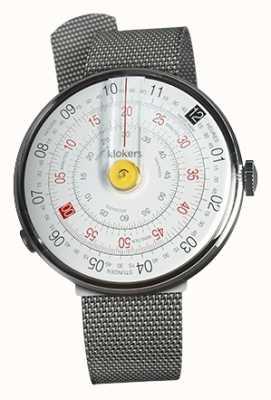 Klokers Klok 01 reloj amarillo correa de acero milano KLOK-01-D1+KLINK-05-MC1