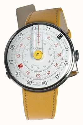 Klokers Klok 01 yellow watch head newport yellow correa individual KLOK-01-D1+KLINK-01-MC7.1