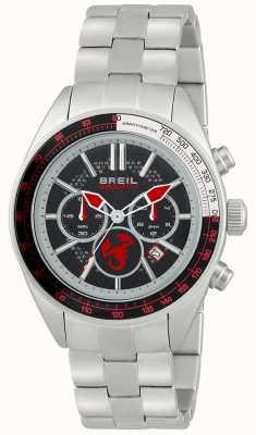 Breil Cronógrafo Abarth en acero inoxidable negro y rojo TW1692