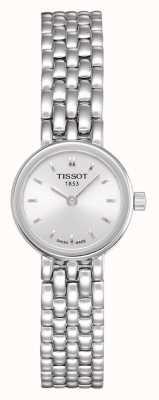 Tissot Preciosa pulsera de acero inoxidable para mujer plateada con esfera plateada T0580091103100