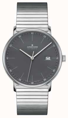 Junghans Forma un reloj automático con brazalete de acero inoxidable 027/4833.44