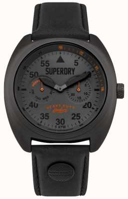 Superdry Scout aviator date & day display correa negra SYG229BB
