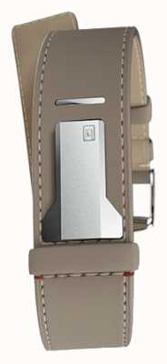 Klokers Klink 04 grege recta sola correa solo 22 mm de ancho 230 mm KLINK-04-LC9