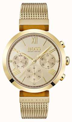 Hugo Boss Ladies multifucntion classic sport oro día y fecha de visualización 1502425